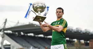 Kerry's Shane Enright: ready to face the challenge of Dublin head on in Croke Park.  Photograph:  Ramsey Cardy/Sportsfile