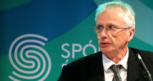 "John Treacy, chief executive, Sport Ireland: ""We have to tier [resources] like every other country does. We are already doing it."" Photograph: James Crombie/Inpho"