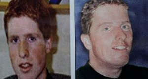 Photo fit of Trevor Deely (when he went missing, left) and how it is believed he may look like today.