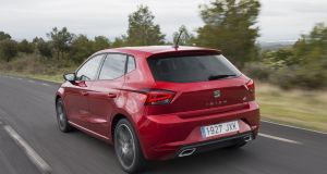 The new Seat Ibiza offers more spacious interior than the outgoing model