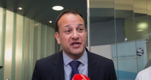 Minister for Social Protection Leo Varadkar says the  confidence and supply deal allowed individual parties to take differing positions on the issue of water charges. Photograph: Collins