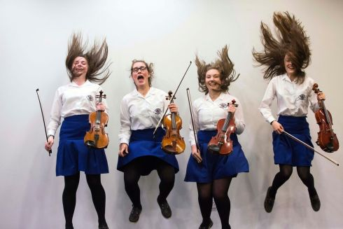 Loreto Kilkenny School Orchestra pictured at the ESB Feis Ceoil.