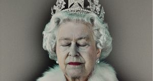 Lightness of Being, a 2004 photographic portrait of Queen Elizabeth II by Chris Levine, sold in London for £187,500