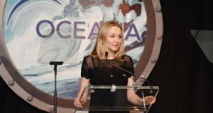Environmental activist and advocate on the conservation of water, Alexandra Cousteau has spent her life at sea. Photograph: Andrew H. Walker/Getty Images