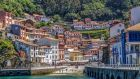 Cudillero fishing village in Asturias.