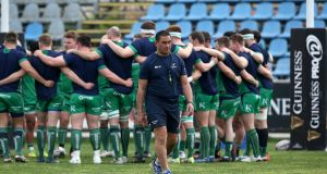 Pat Lam's Connacht travel to play Edinburgh on Friday night. Photograph: Giuseppe Fama/Inpho
