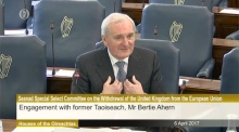 Bertie Ahern: Brexit is not the time for a 'secterian headcount'