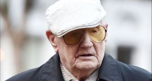 Ralph Clarke  is believed to be  the oldest person ever convicted in the UK.
