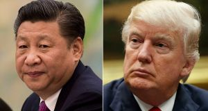 China's President Xi Jinping is to meet US president Donald Trump over two days at the luxury Mar-a-Lago resort. File photographs: AP Photo