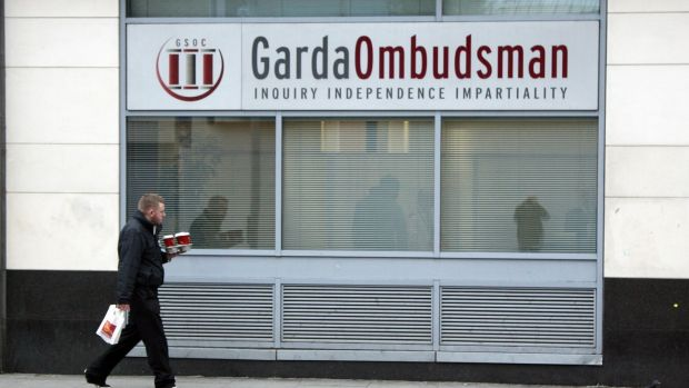 The office of the Garda Ombudsman Commission on Abbey Street Upper, Dublin 1. Photograph: Collins