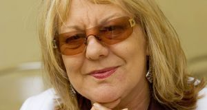 "Sue Townsend (1946-2014): ""I ruthlessly exploited Adrian. But he can't afford to sue me."" Photograph: David Levenson/Getty Images"
