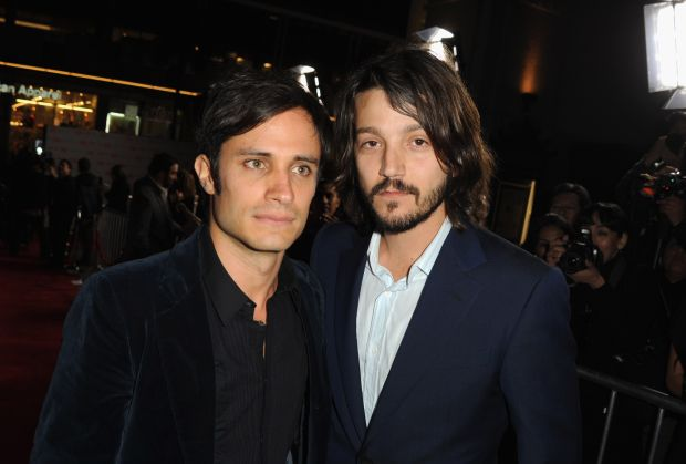 Gael Garcia Bernal and best mate Diego Luna. (Photo by Kevin Winter/Getty Images)
