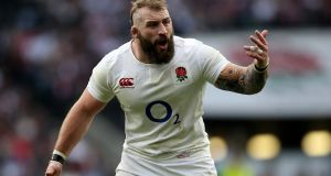 England's Joe Marler won a second Six Nations title in two years last month. Photograph: Getty Images