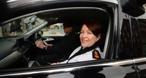 Garda Commissioner Noirín O'Sullivan received reports   that recording  was taking place on non-999 calls. Photograph: Dara Mac Donaill