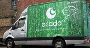 Ocado shares were trading close to a six-month low hit in early February