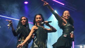 Cutting loose of a Thursday: En Vogue. Photograph:  Xabiso Mkhabela/Anadolu Agency/Getty Images