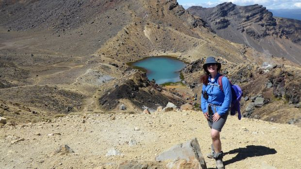 Margaret Collins, New Zealand: 'I will go home in October for a six-week visit to celebrate my 50th birthday, before heading off again for another adventure.'