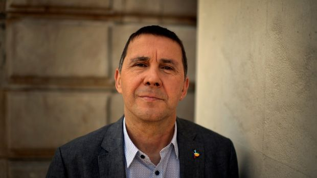 Arnaldo Otegi, general secretary of Basque independence party Sortu, has has been instrumental in the end to violence. Photograph: Vincent West/Reuters