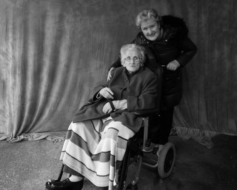 Eilish Nicholl and daughter Linda. Photograph: Catherine Tiernan