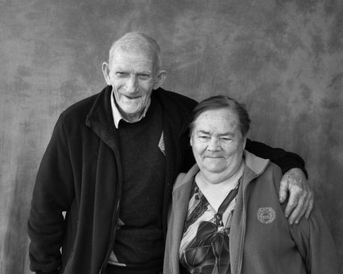 Packie Joe and Kathleen McGarry. Photograph: Oliver Fallon