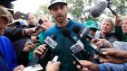 Dustin Johnson  has never admitted to drug offences because he doesn't need to: such is the nontransparent anti-doping code on  PGA Tour. Photograph: Tannen Maury/Epa