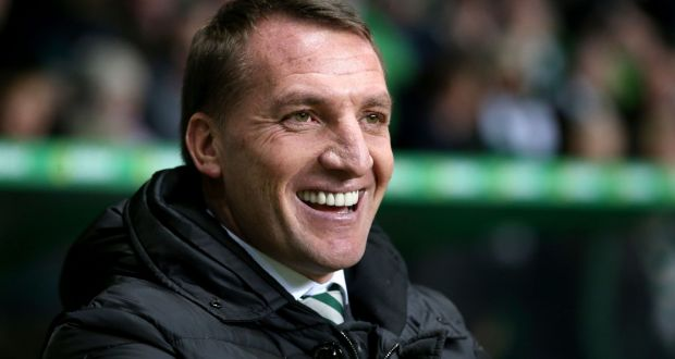 Brendan rodgers signs new contract at celtic celtic manager brendan rodgers has signed up for the clubs quest for 10 in a row fandeluxe Image collections