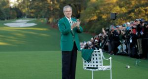 "Augusta National chairman Billy Payne: We have a very short member season at Augusta National, it's seven months only. The time that we dedicate to the preparation and conduct of the tournament is already extensive. I don't think that we would ever host another tournament here."" Photo: Jonathan Ernst/Reuters"