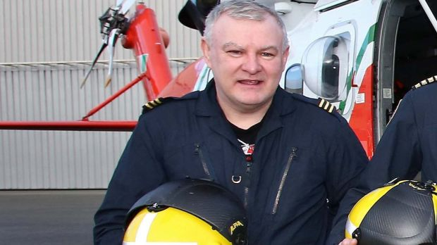 Paul Ormsby, winchman on the Coast Guard Rescue 116 Helicopter, who is still missing along with his colleague Ciaran Smith