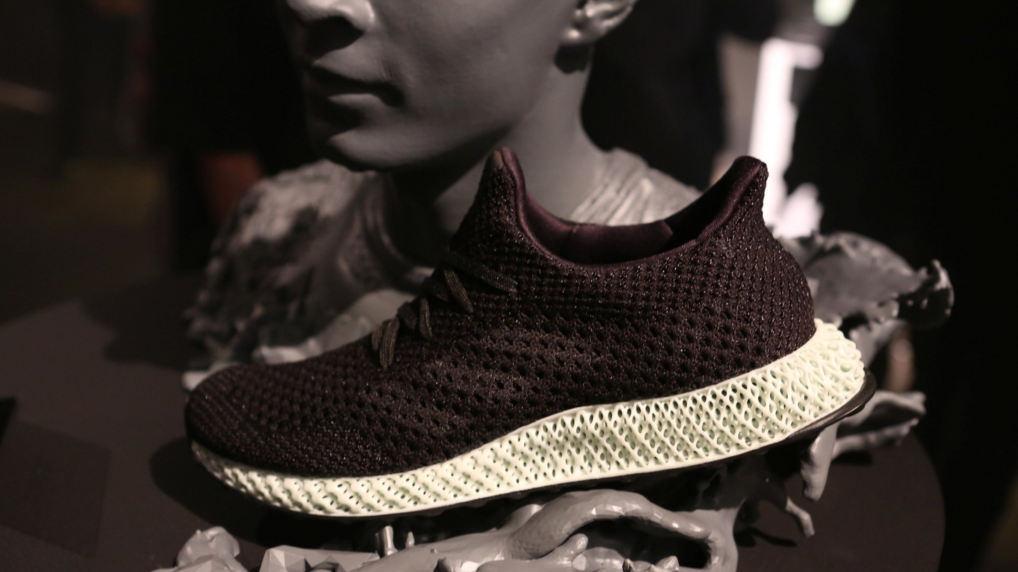 best service cd831 3e03c Adidas plans to mass-produce 3D-printed runners