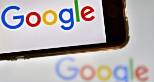 The new Google tool will appear beneath key searches results. Photograph: Getty