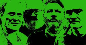 'United Ireland? It's all guff': Colm Lynagh, Anthony McIntyre, Gerry McGeough and Tommy McKearney Colm Lynagh, Anthony McIntyre, Gerry McGeough and Tommy McKearney