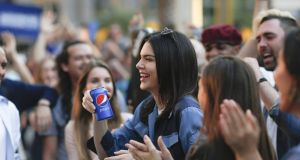 The 'truly awful' Pepsi ad featuring model Kendall Jenner spontaneously joining a rather upbeat street protest