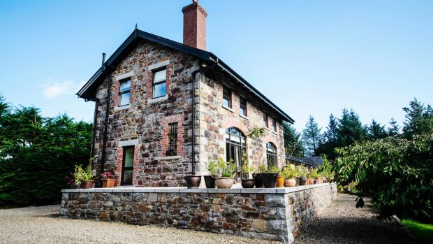 Susan Gorman and Alan Ross's restored railway cottage in Wicklow