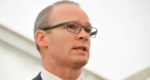 Simon Coveney's correspondence has been strongly criticised by members of the committee. Photograph: Daragh Mc Sweeney/Provision