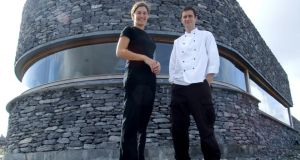 Ruairí and Marie-Thérèse de Blacam, who founded Inis Meáin Restaurant & Suites 10 years ago