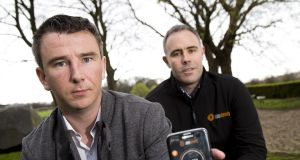 John Daly and John Aherne, founders of Aim Steady. Photograph:  Colm Mahady/Fennell Photography