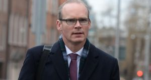 Minister for Housing Simon Coveney has been at the centre of the row between Fine Gael and Fianna Fáil over water charges. Photograph: Dara Mac Dónaill