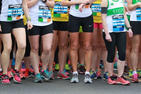 The Great Ireland Run in Dublin's Phoenix Park.  General Race atmosphere during the event.  Photograph Nick Bradshaw