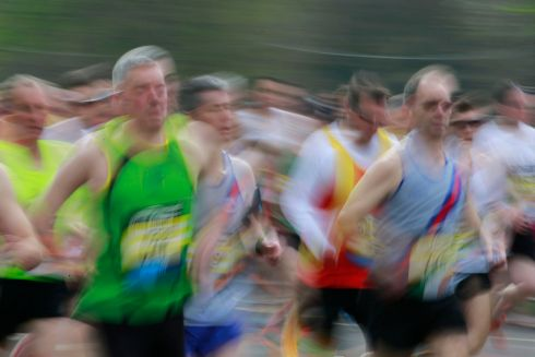 The Great Ireland Run in Dublin's Phoenix Park.  General Race action during the event.  Photograph Nick Bradshaw