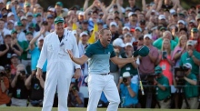 Sergio Garcia relieved to claim maiden major win at the Masters