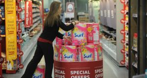 Supervalu is back on top in the latest Kantar survey, with a 22.6 per cent market share. (Photograph: Aidan Crawley)