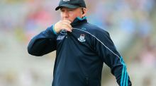 Jim Gavin: Dublin manager felt his side made too many errors against Kerry. Photograph: Lorraine O'Sullivan/Inpho