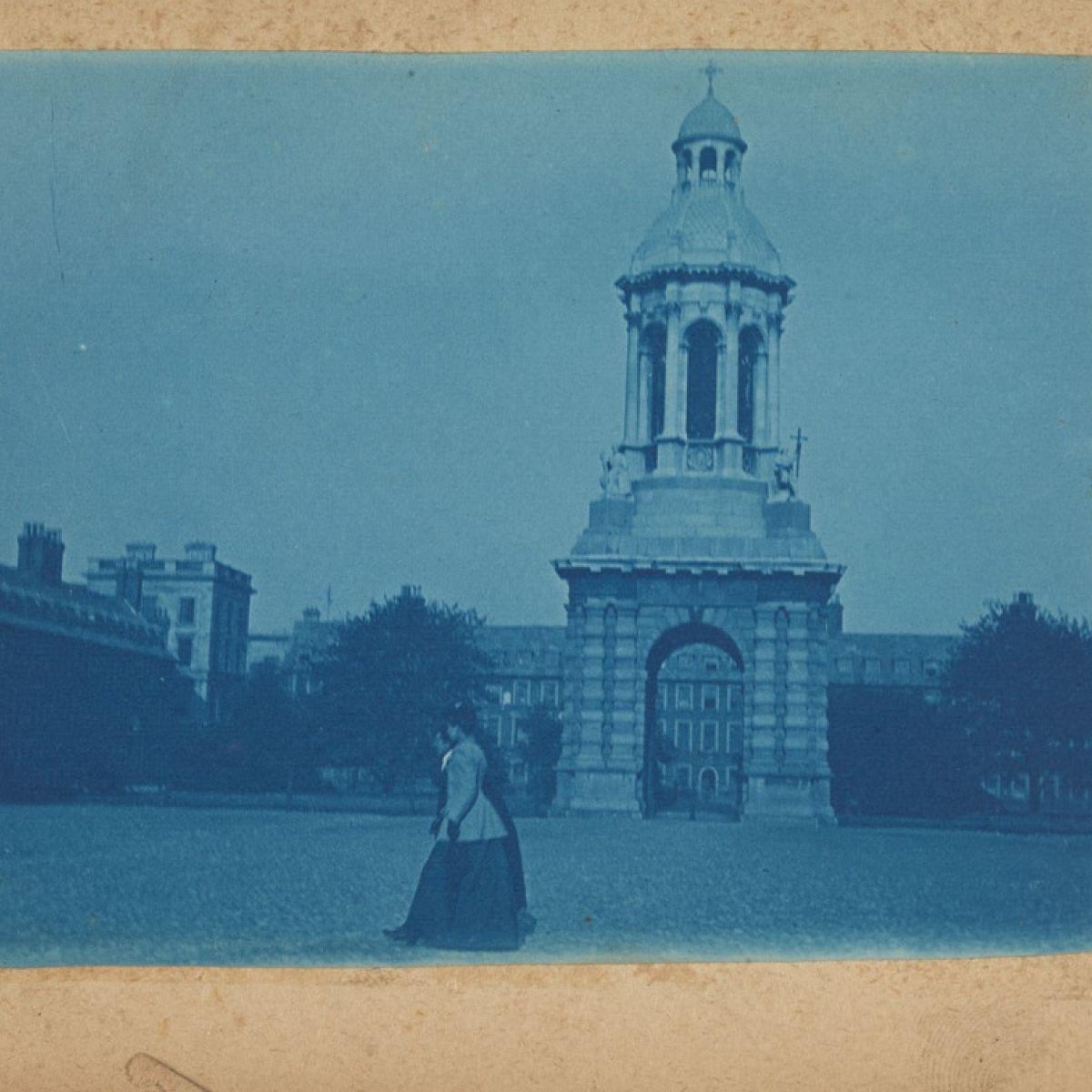 A literary treasure map of Trinity College Dublin