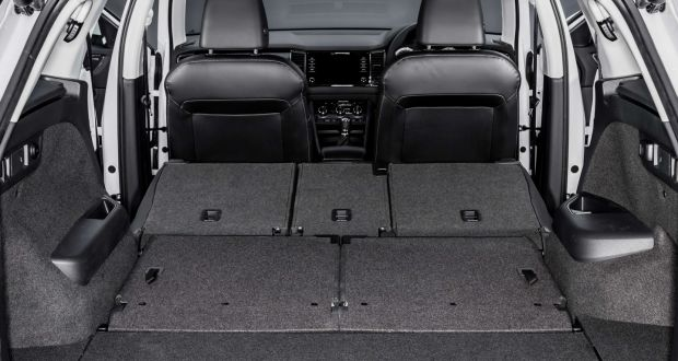 Spoiled For E Five Seater Offers A Mive 720 Litres Of Boot