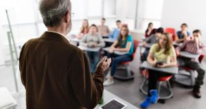 Students should be mindful that some third-level courses have minimum subject entry requirements. Photo: iStock