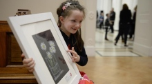 'I'm not sure what it is': Ireland's youngest artists take centre stage