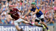 Jonnny Glynn  in action for Galway against  Tipperary in the 2015 All-Ireland sem-final. The forward spent last season in New York. Photograph: James Crombie/Inpho