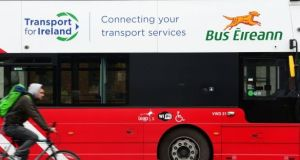 People with annual and monthly bus tickets on Leap Cards will be issued with a refund based on the value of their ticket and the number of days travel lost due to the industrial action. Photograph: Dara Mac Dónaill