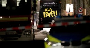 Police have found a letter which claims responsibility for the attack. Photograph: Friedemann Vogel/ EPA