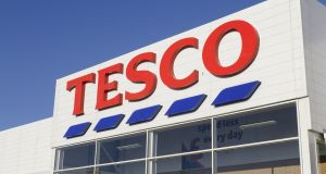 Tesco group said on Wednesday it made an operating profit before exceptional items of £1.28 billion (€1.5 billion) in the year to February 25th, 2017. Photograph: iStock